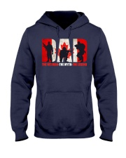 Canadian Veteran Grandpa-DAD Hooded Sweatshirt thumbnail