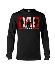 Canadian Veteran Grandpa-DAD Long Sleeve Tee thumbnail