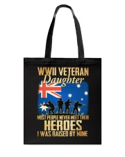 WWII Veteran Daughter Tote Bag thumbnail