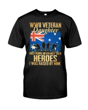 WWII Veteran Daughter Classic T-Shirt front