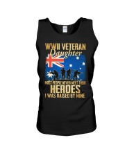 WWII Veteran Daughter Unisex Tank thumbnail