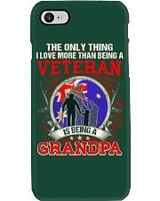 Australian Veteran Grandpa-The Only Thing Phone Case thumbnail