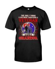 Australian Veteran Grandpa-The Only Thing Classic T-Shirt front