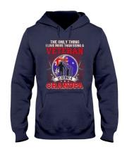 Australian Veteran Grandpa-The Only Thing Hooded Sweatshirt thumbnail