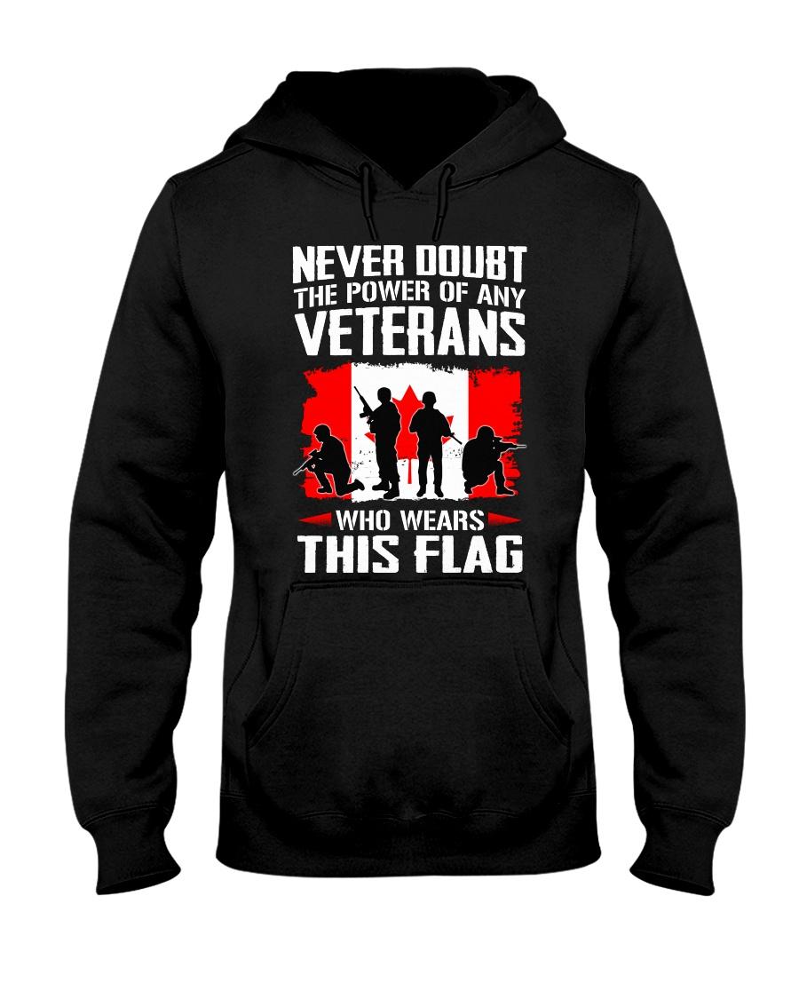 Wears This Flag Hooded Sweatshirt