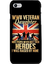 WWII Veteran Daughter Phone Case tile