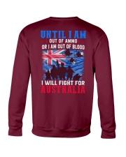 Fight For Australia Crewneck Sweatshirt thumbnail