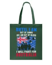 Fight For Australia Tote Bag thumbnail