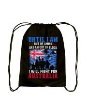 Fight For Australia Drawstring Bag thumbnail