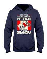 Being A Grandpa Canada Hooded Sweatshirt thumbnail