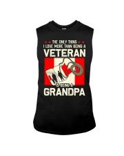 Being A Grandpa Canada Sleeveless Tee thumbnail