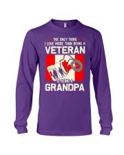 Being A Grandpa Canada Long Sleeve Tee thumbnail