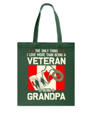 Being A Grandpa Canada Tote Bag thumbnail