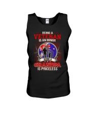 Australian Veteran Grandpa-Priceless Unisex Tank thumbnail