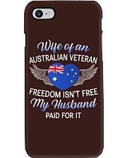 AU Veteran's Wife-Husband Paid Phone Case thumbnail