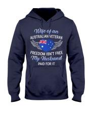 AU Veteran's Wife-Husband Paid Hooded Sweatshirt thumbnail
