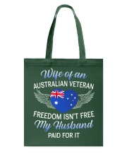 AU Veteran's Wife-Husband Paid Tote Bag thumbnail