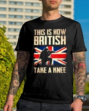 British Take A Knee Classic T-Shirt lifestyle-mens-crewneck-front-8