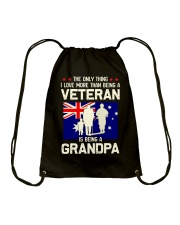 Being A Grandpa Au Drawstring Bag thumbnail