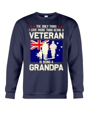 Being A Grandpa Au Crewneck Sweatshirt thumbnail