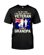 Being A Grandpa Au Classic T-Shirt front