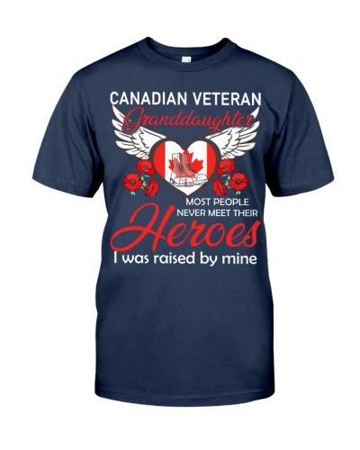 Canadian Veteran Granddaughter-Hero
