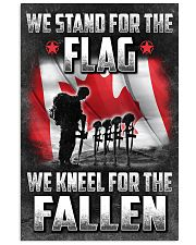 We Stand For The Flag 16x24 Poster front