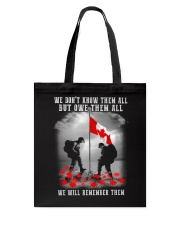 Remember Them Tote Bag thumbnail