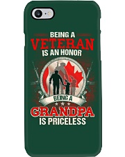 Canadian Veteran Grandpa-Priceless Phone Case thumbnail