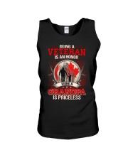 Canadian Veteran Grandpa-Priceless Unisex Tank thumbnail