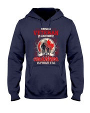 Canadian Veteran Grandpa-Priceless Hooded Sweatshirt thumbnail