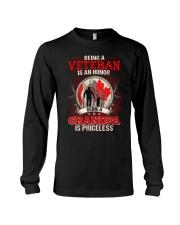 Canadian Veteran Grandpa-Priceless Long Sleeve Tee thumbnail