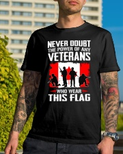 Wear This Flag Classic T-Shirt lifestyle-mens-crewneck-front-8