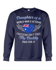 AU WWII Veteran's Daughter-Dad Paid Crewneck Sweatshirt thumbnail