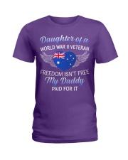 AU WWII Veteran's Daughter-Dad Paid Ladies T-Shirt thumbnail
