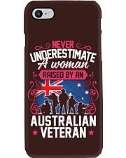 A Woman Raised By An Australian Veteran Phone Case thumbnail