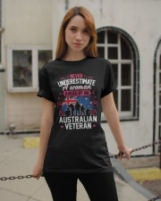 A Woman Raised By An Australian Veteran Classic T-Shirt apparel-classic-tshirt-lifestyle-19