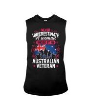 A Woman Raised By An Australian Veteran Sleeveless Tee thumbnail