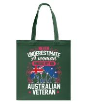 A Woman Raised By An Australian Veteran Tote Bag thumbnail