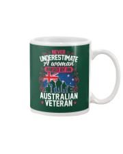 A Woman Raised By An Australian Veteran Mug thumbnail