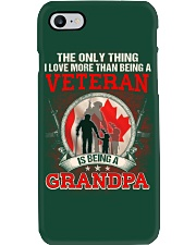 Canadian Veteran Grandpa-The Only Thing Phone Case thumbnail