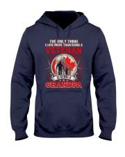 Canadian Veteran Grandpa-The Only Thing Hooded Sweatshirt thumbnail