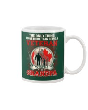 Canadian Veteran Grandpa-The Only Thing Mug thumbnail