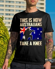 Australians Take A Knee Classic T-Shirt lifestyle-mens-crewneck-front-8
