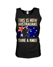 Australians Take A Knee Unisex Tank thumbnail