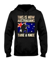 Australians Take A Knee Hooded Sweatshirt thumbnail