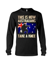 Australians Take A Knee Long Sleeve Tee thumbnail