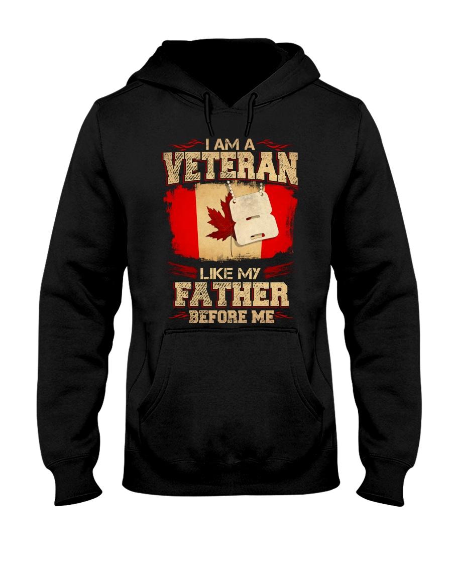 I'm A Veteran Hooded Sweatshirt