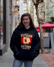 I'm A Veteran Hooded Sweatshirt lifestyle-unisex-hoodie-front-2