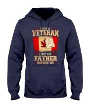 I'm A Veteran Hooded Sweatshirt tile